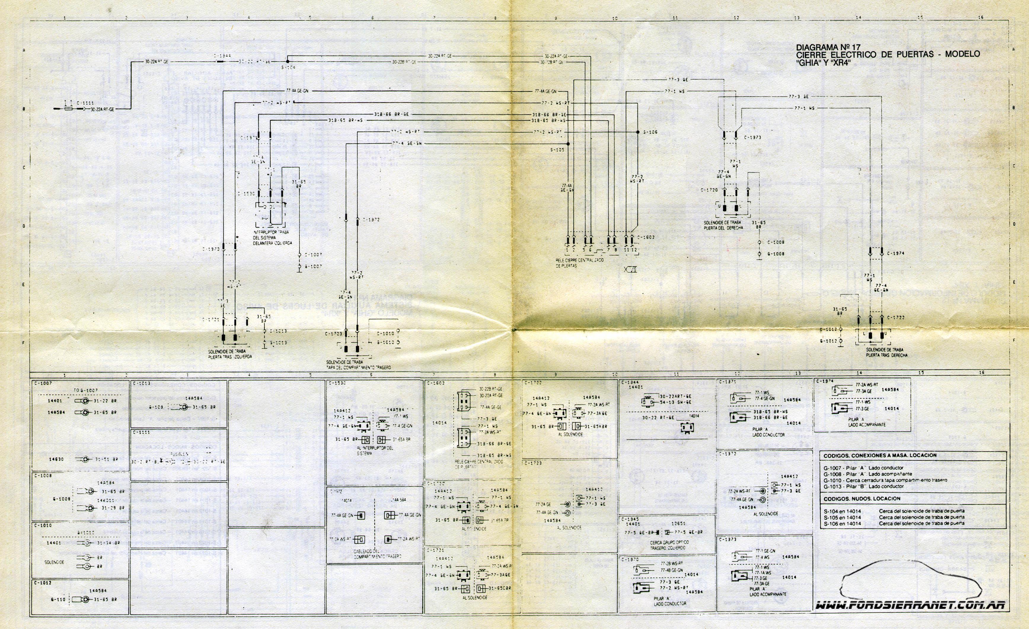 Diagrama Electrico Ford Galaxy 94